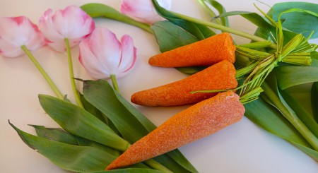 Bunch of carrots (12.-)