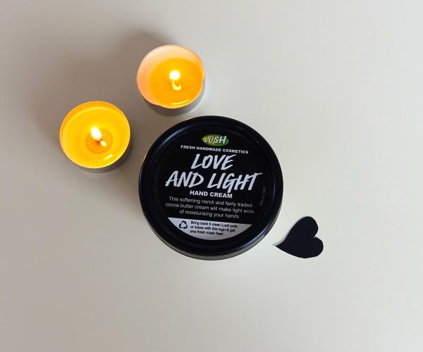 Crème pour les mains Love and Light, 19.50.-/ 100 g.