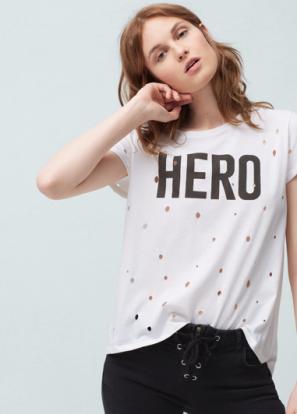 Un peu fayot mais efficace - T-shirt «Hero» Mango 19,95chf